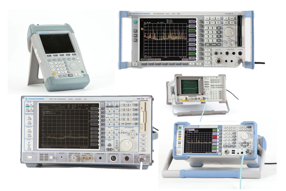 Tuneable Receivers and Analysers