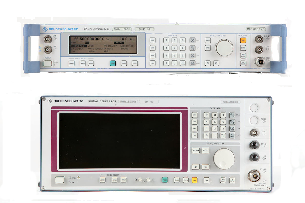 Signal Generators / Noise Sources / Function Generators