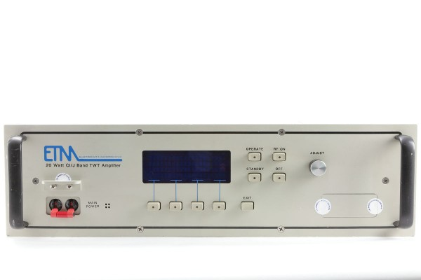 ETM 20-CIJ TWT Microwave Power Amplifier