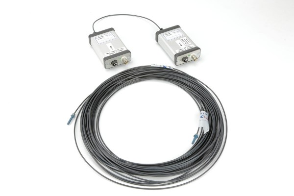 Fibre Optic Link Kit.  10MHz,  30 Metre length