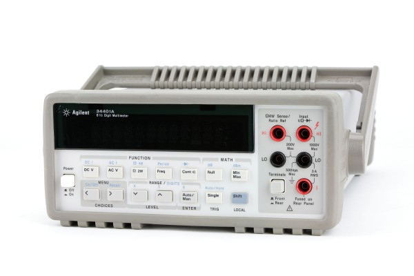 Agilent 34401A Digital Multimeter. (EUT monitoring)