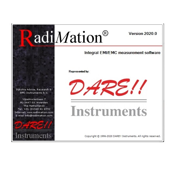 Radimation Test Software now available