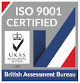 EMC Hire Limited - UKAS-ISO-9001